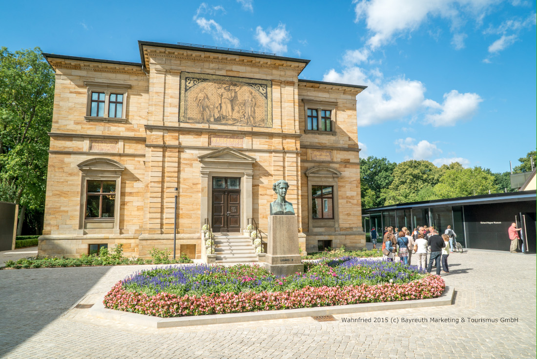 Wahnfried 2015, Bayreuth Marketing & Tourismus GmbH